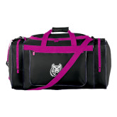 Black With Pink Gear Bag-Bengal Head