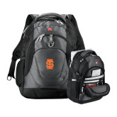 Wenger Swiss Army Tech Charcoal Compu Backpack-Interlocking IS