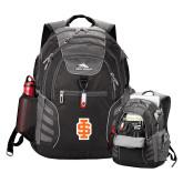 High Sierra Big Wig Black Compu Backpack-Interlocking IS - 2 Color