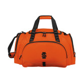 Challenger Team Orange Sport Bag-Interlocking IS