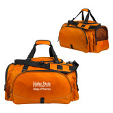 Challenger Team Orange Sport Bag-Idaho State University College Pharmacy