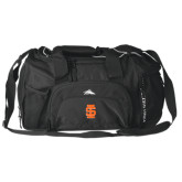 High Sierra Black Switch Blade Duffel-Interlocking IS