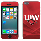iPhone 5/5s Skin-UIW Cardinal Head Stacked