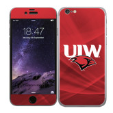 iPhone 6 Skin-UIW Cardinal Head Stacked