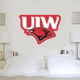 3 ft x 3 ft Fan WallSkinz-UIW Cardinal Head Stacked