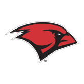 Large Decal-Cardinal Head, 12 inches tall