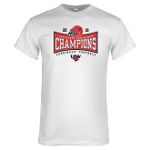 White T Shirt-2018 Southland Football Champions