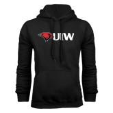 Black Fleece Hoodie-Cardinal Head UIW