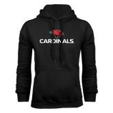 Black Fleece Hood-Cardinals w/ Cardinal Head