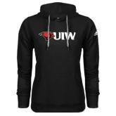 Adidas Climawarm Black Team Issue Hoodie-Cardinal Head UIW