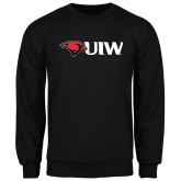 Black Fleece Crew-Cardinal Head UIW