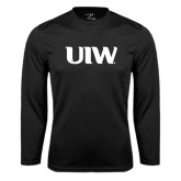 Syntrel Performance Black Longsleeve Shirt-UIW