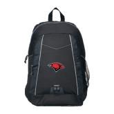 Impulse Black Backpack-Cardinal Head