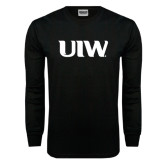 Black Long Sleeve TShirt-UIW
