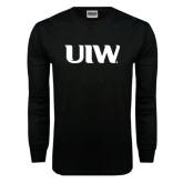 Black Long Sleeve TShirt-UIW