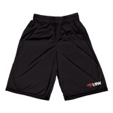 Russell Performance Black 9 Inch Short w/Pockets-Cardinal Head UIW