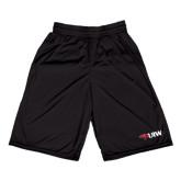 Russell Performance Black 9 Inch Short w/Pockets-Cardinal Head UIW