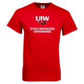 Red T Shirt-Synchronized Swimming