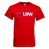 Red T Shirt-Cardinal Head UIW
