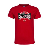 Youth Red T Shirt-2018 Southland Football Champions