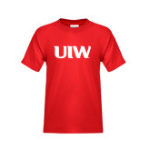 Youth Red T Shirt-UIW