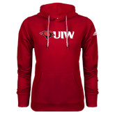 Adidas Climawarm Red Team Issue Hoodie-Cardinal Head UIW