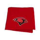 Red Sweatshirt Blanket-Cardinal Head