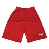 Performance Classic Red 9 Inch Short-UIW Cardinal Head Stacked