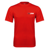 Performance Red Tee-Cardinal Head UIW
