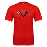 Performance Red Tee-Cardinal Head