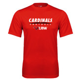 Performance Red Tee-Football Field
