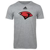 Adidas Sport Grey Logo T Shirt-Cardinal Head