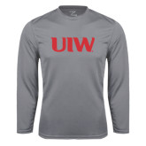 Syntrel Performance Steel Longsleeve Shirt-UIW