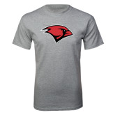 Grey T Shirt-Cardinal Head
