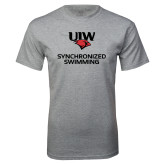 Grey T Shirt-Synchronized Swimming
