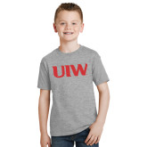 Youth Grey T-Shirt-UIW