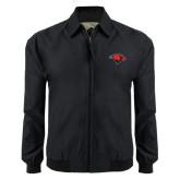 Black Players Jacket-Cardinal Head