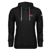Adidas Climawarm Black Team Issue Hoodie-Cardinal Head