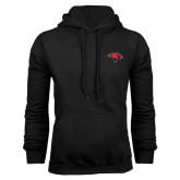 Black Fleece Hood-Cardinal Head