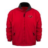 Red Survivor Jacket-Cardinal Head