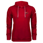 Adidas Climawarm Red Team Issue Hoodie-Cardinal Head