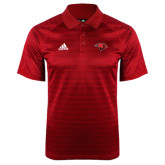Adidas Climalite Red Jaquard Select Polo-Cardinal Head