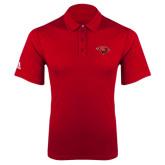 Adidas Climalite Red Grind Polo-Cardinal Head