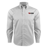 Red House Grey Plaid Long Sleeve Shirt-Cardinal Head UIW