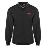 Black Executive Windshirt-Cardinal Head