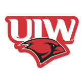 Large Magnet-UIW Cardinal Head Stacked, 12 inches tall