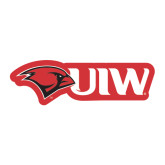 Large Magnet-Cardinal Head UIW, 12 inches tall