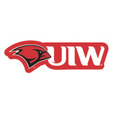 Extra Large Magnet-Cardinal Head UIW, 18 inches wide