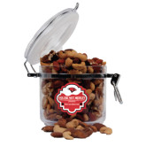 Deluxe Nut Medley Round Canister-Cardinal Head
