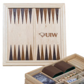 Lifestyle 7 in 1 Desktop Game Set-Cardinal Head UIW Engraved